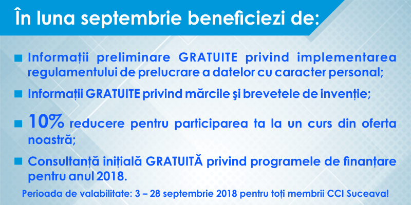 09. septembrie 2018